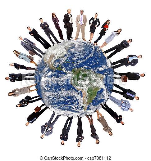 Concepto de comunicación global - csp7081112