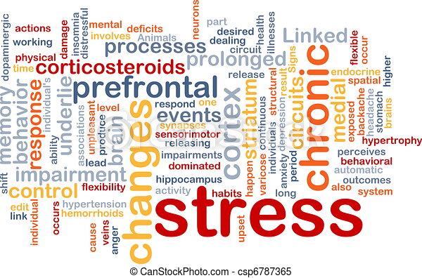 Concepto de estrés mental - csp6787365