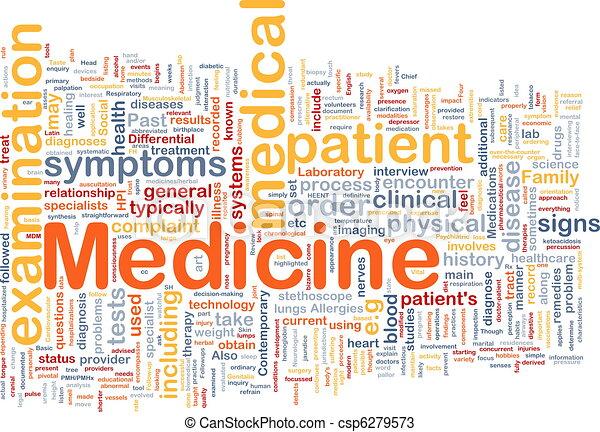 Concepto de fondo médico - csp6279573