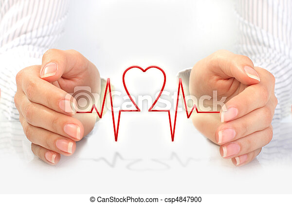 Concepto de seguro de salud. - csp4847900