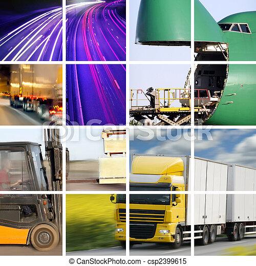 Concepto de transporte - csp2399615