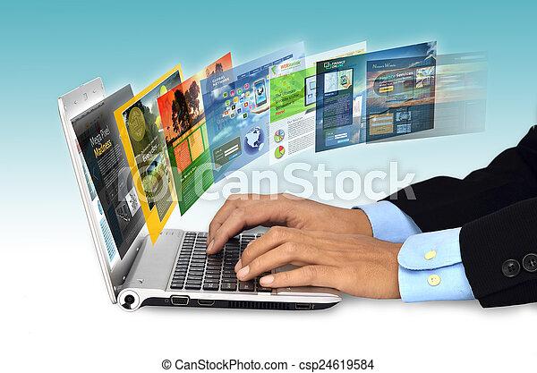 El concepto de Internet - csp24619584