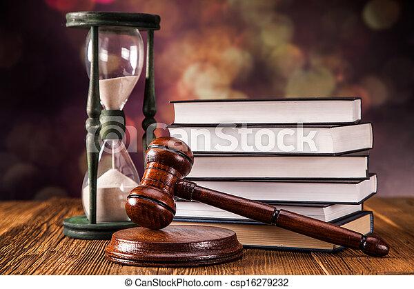 El concepto de la ley - csp16279232
