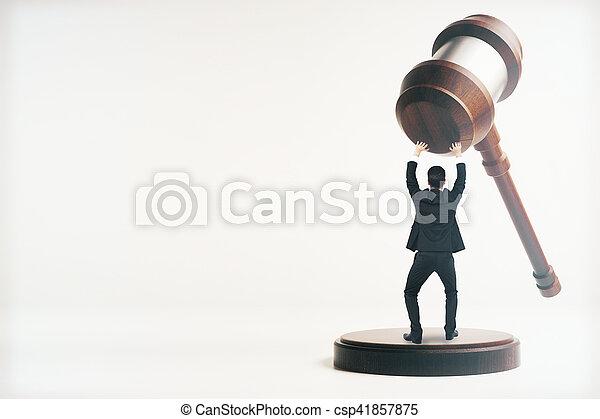 El concepto de derecho - csp41857875