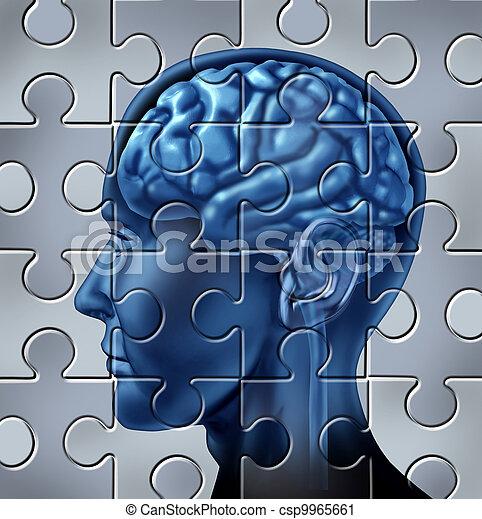 La memoria pierde el concepto - csp9965661