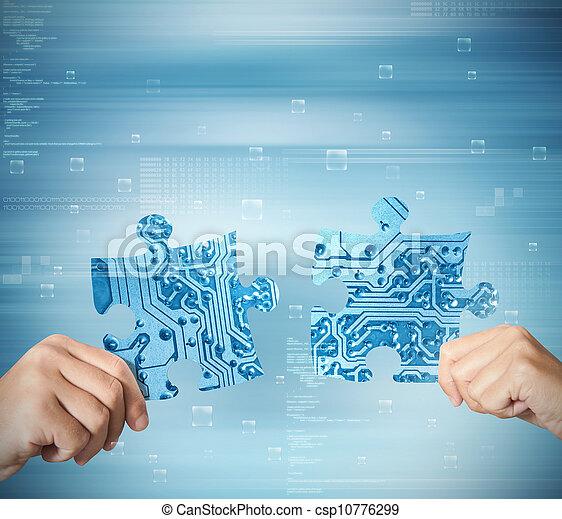 Concepto de integración del sistema - csp10776299