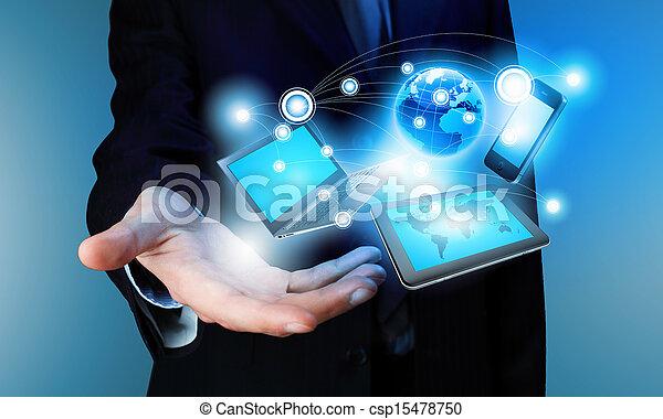 Concepto tecnológico - csp15478750