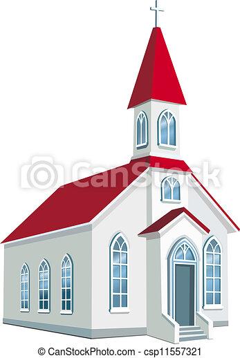 La iglesia cristiana del condado - csp11557321