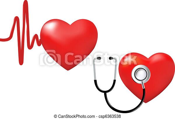 Corazón listo - csp6363538