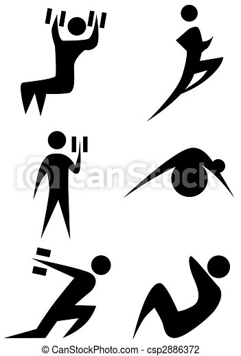 Figura de palos de ejercicio - csp2886372