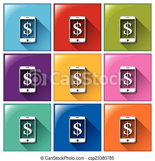 Icon set - csp23380785