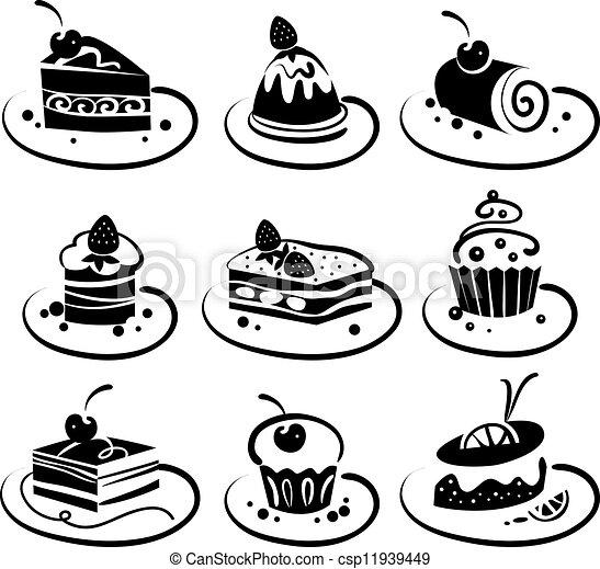 Un juego de pasteles - csp11939449