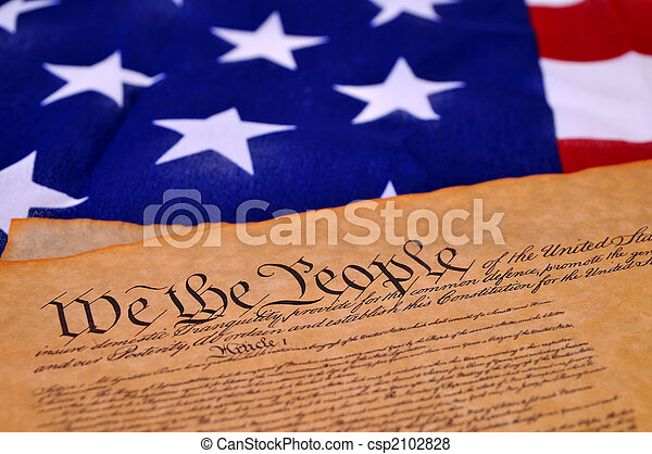 Constitución de Estados Unidos - csp2102828