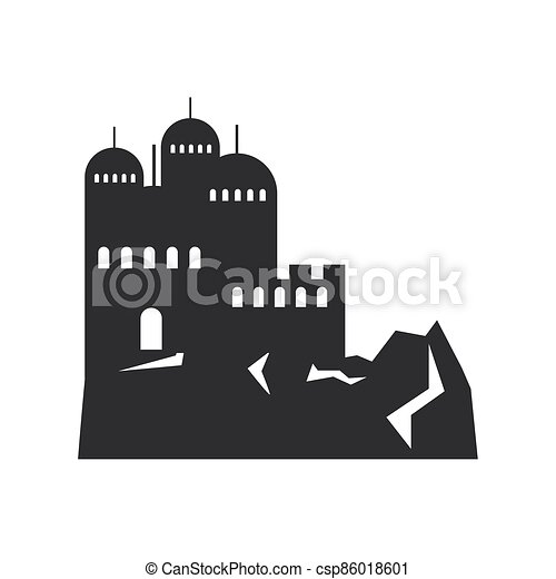construcción, montañas, rocoso, ciudad - csp86018601