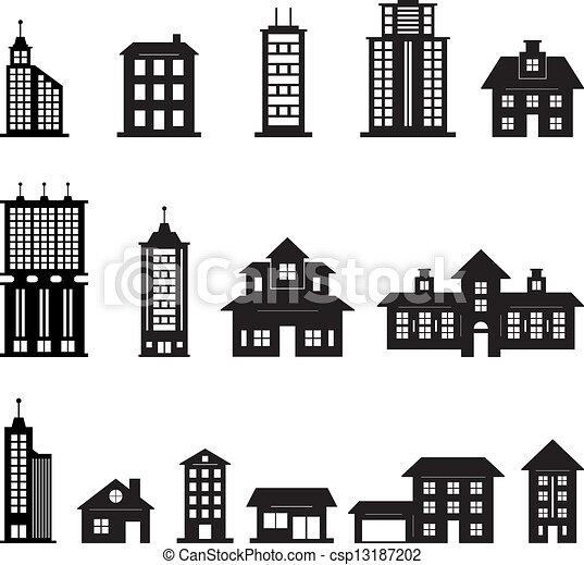 Construyendo blanco y negro set 3 - csp13187202