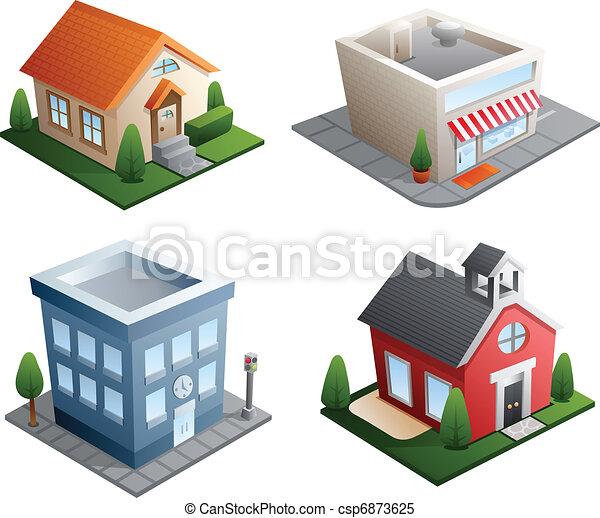 Construyendo ilustraciones - csp6873625