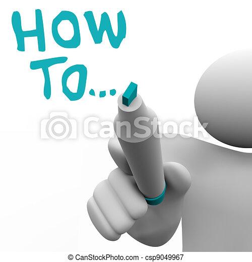 Como asesor de asesores escribe instrucciones - csp9049967