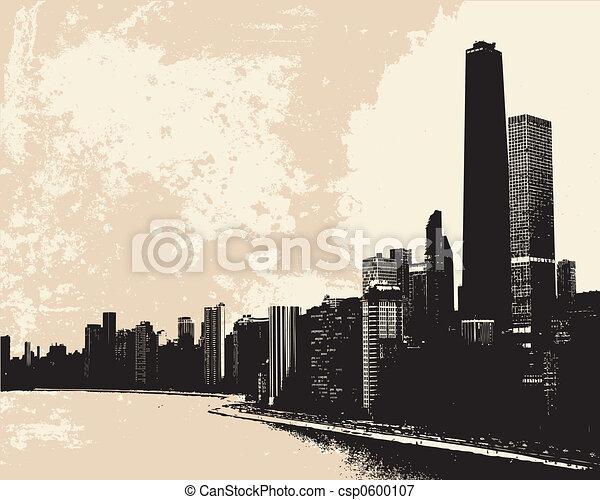 Chicago Skyline - csp0600107