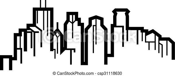 El horizonte de Minneapolis - csp31118630