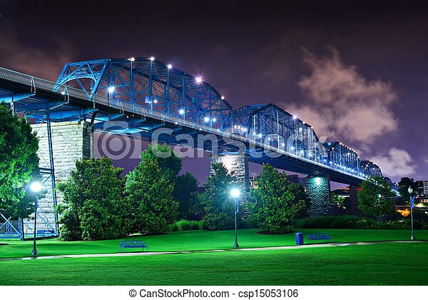 Coolidge Park en Chatanooga - csp15053106