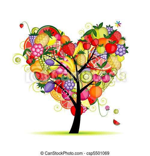 El corazón de un árbol de energía para tu diseño - csp5501069