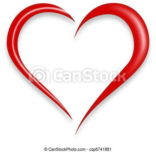 Corazón de amor - csp6741881
