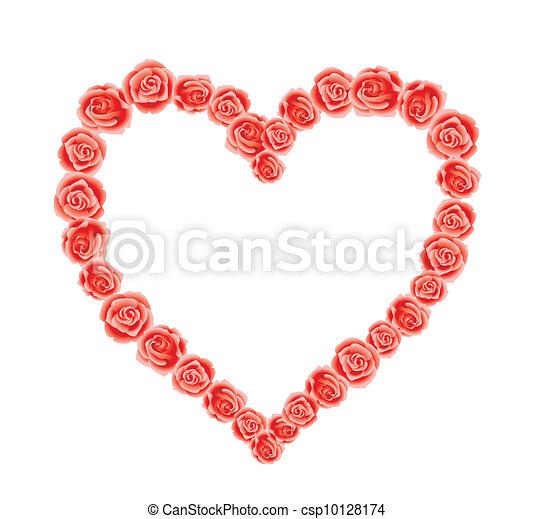 Corazón de amor - csp10128174