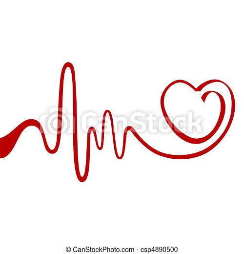 Corazón abstracto - csp4890500