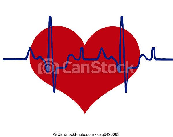 Corazón y corazón - csp6496063