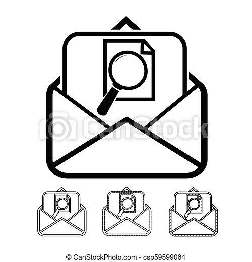 Correo de correo y correo - csp59599084