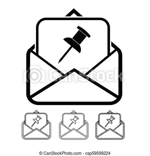 Correo de correo y correo - csp59599224