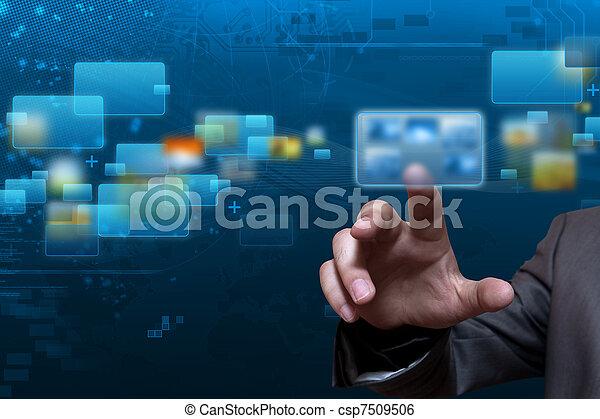 Estremeciendo tecnología de pantalla - csp7509506