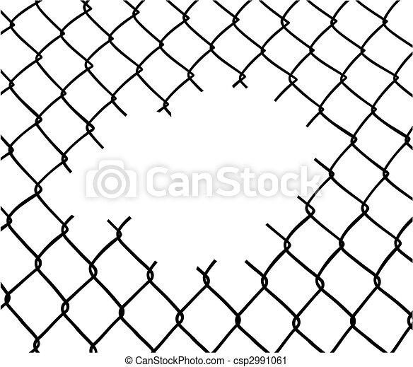 Corta la cerca - csp2991061