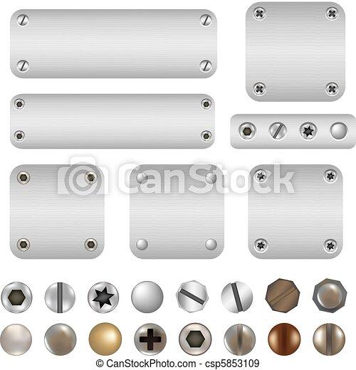 Cuernos y tornillos - csp5853109