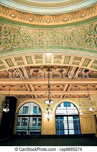 Centro cultural de Chicago - csp8685274