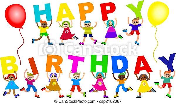 Feliz cumpleaños - csp2182067
