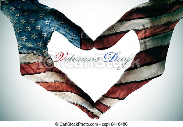 Día de los Veteranos - csp16418486