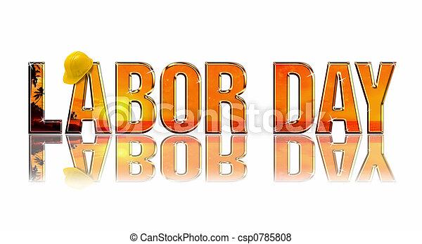 Día del trabajo - csp0785808