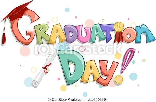 Día de graduación - csp6008894