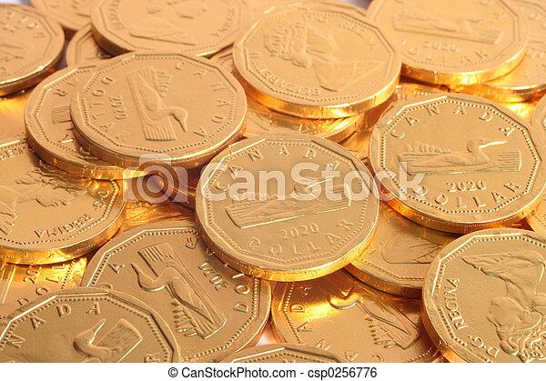 Dólar de chocolate - csp0256776