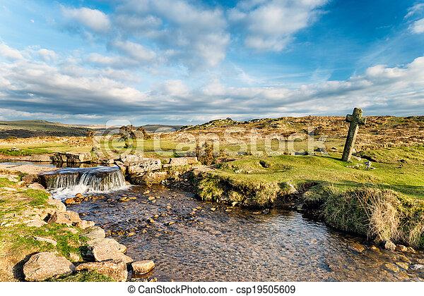 Cruz de Dartmoor - csp19505609