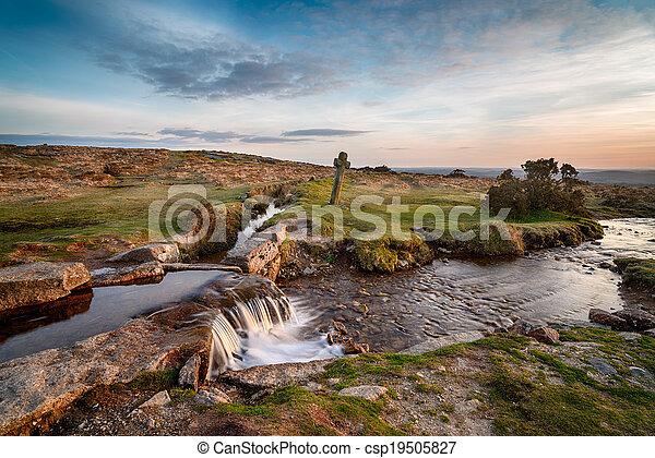 Cruz de Dartmoor - csp19505827