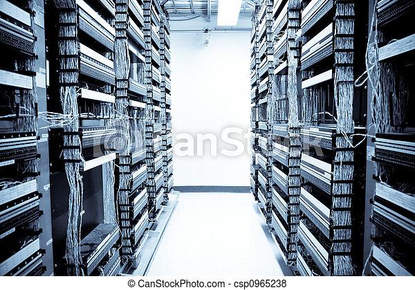 Centro de datos de la red - csp0965238