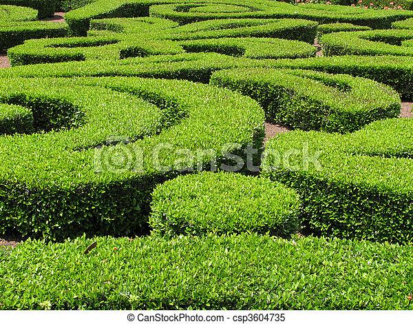 De adornos verdes - csp3604735