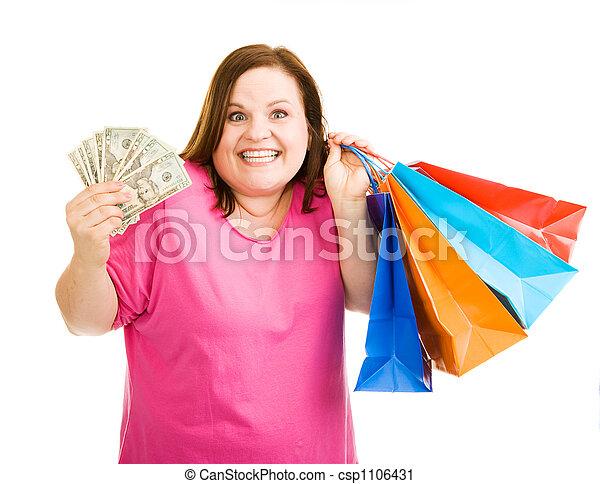 De compras - csp1106431