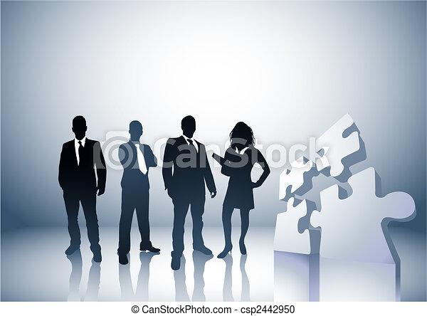 Conectando gente - csp2442950