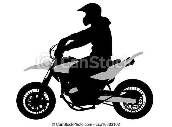 De la bicicleta - csp16383102