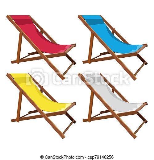 de madera, conjunto, salón, chaise - csp79146256
