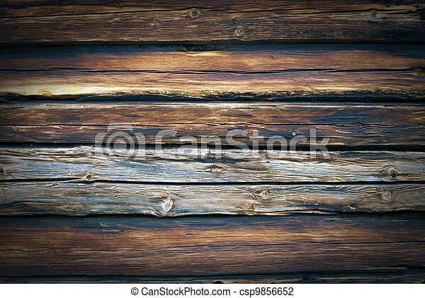 De madera - csp9856652
