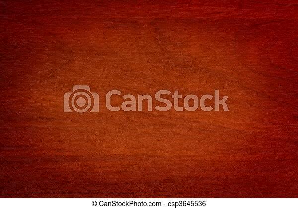De madera - csp3645536